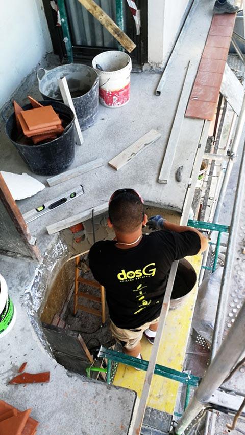 Actuaciones de DosG para la rehabilitación de la fachada
